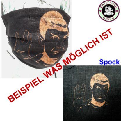 Maske Spock