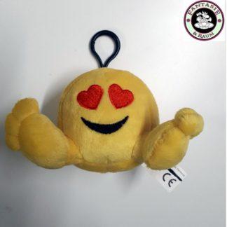 Emoji Plüsch Figur - Heart-Eyes