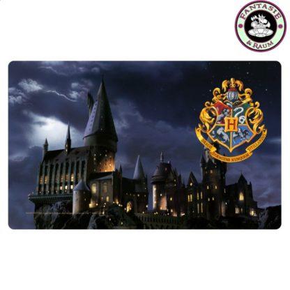 Frühstücksbrettchen Hogwarts.