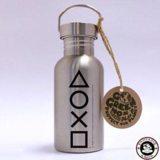 PlayStation Edelstahl-Trinkflasche Buttons
