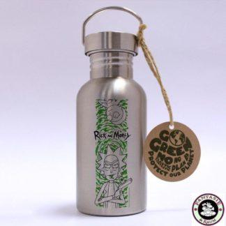 Rick & Morty Edelstahl-Trinkflasche Portal