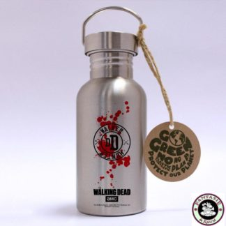 The Walking Dead Edelstahl-Trinkflasche Walker Hunter
