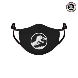 Jurassic Park Stoffmaske Logo