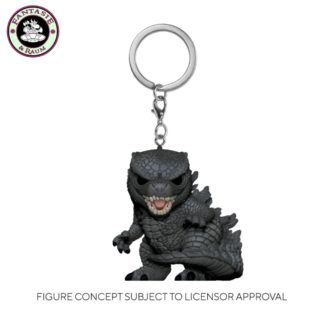 Godzilla_ Keychain