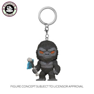 Kong with Axe Keychain