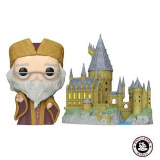 Dumbledore with Hogwarts