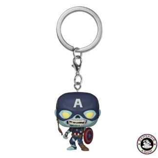Key Zombie Captain America
