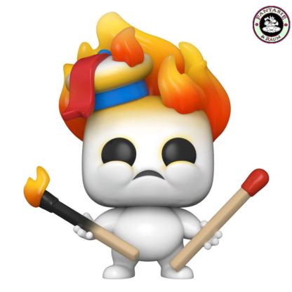 Mini Puft on Fire